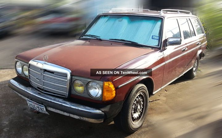 1984 mercedes benz 300 turbo diesel station wagon for Mercedes benz 300 diesel