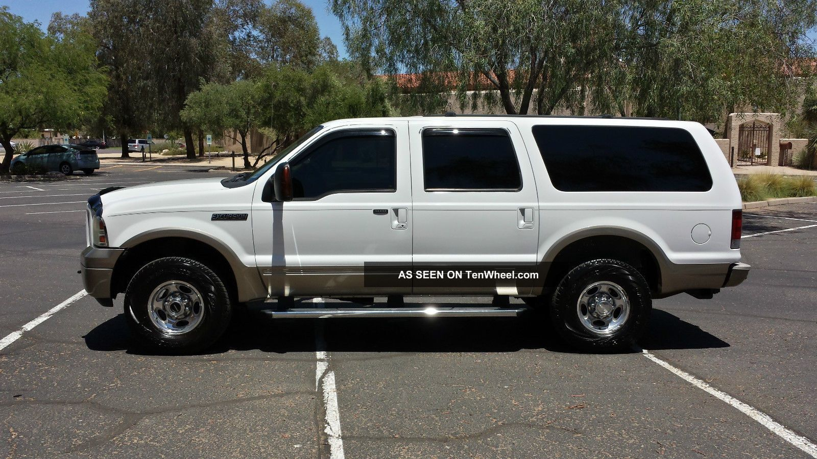 6.0 Powerstroke Specs >> 2005 Ford Excursion 4wd Eddie Bauer 6. 0l Turbo Diesel