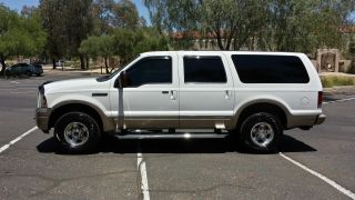 2005 Ford Excursion 4wd Eddie Bauer 6.  0l Turbo Diesel photo