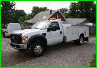 2008 Ford F - 550 Duty Service Lube Mobile Repair Truck 6.  4l Powerstroke photo