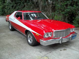 1974 Ford Gran Torino Starsky And Hutch Car photo