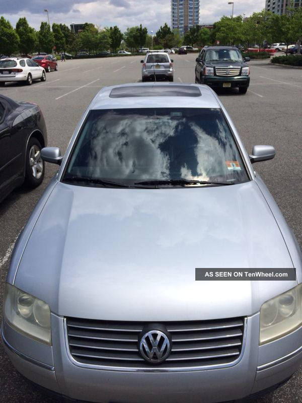 2001 Volkswagon Passat Silver Passat photo