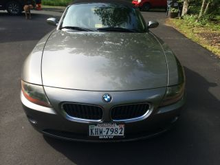 2003 Bmw Z4 2.  5i Convertible 2 - Door 2.  5l photo