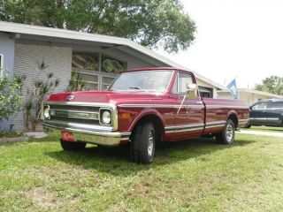 Chevrolet: 1969 Custom - 10 Longbed 2 - Tone,  All,  Numbers Matching Pick - Up photo