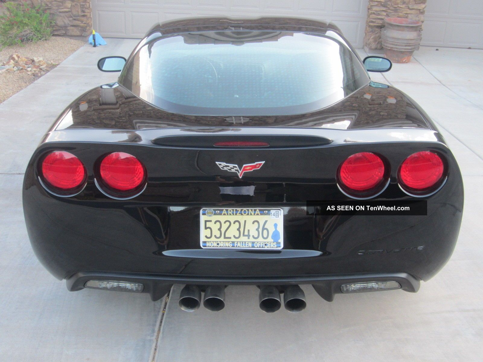 2008 Corvette C6 Indy Pace Car, 3lt, Z51, Dual Mode Exhaust