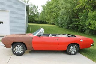 1967 Plymouth Barracuda Convertible photo