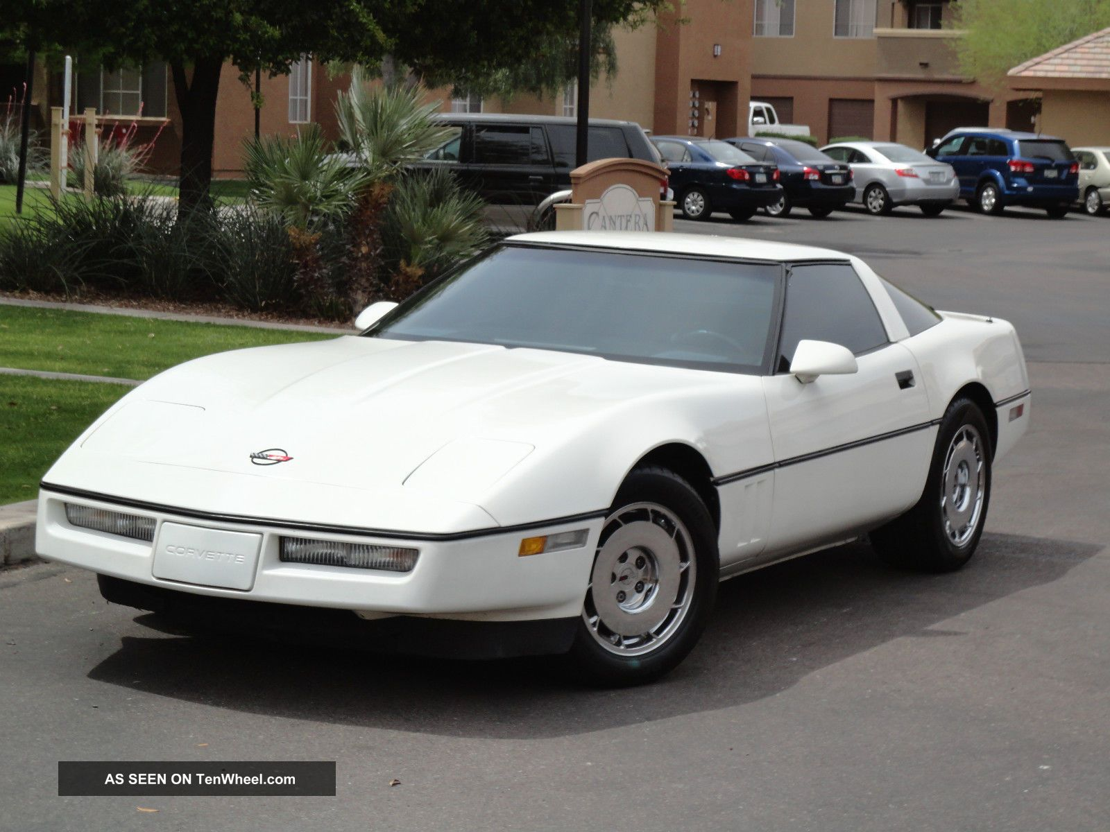 1984 chevrolet corvette coupe white with black interior 84. Black Bedroom Furniture Sets. Home Design Ideas