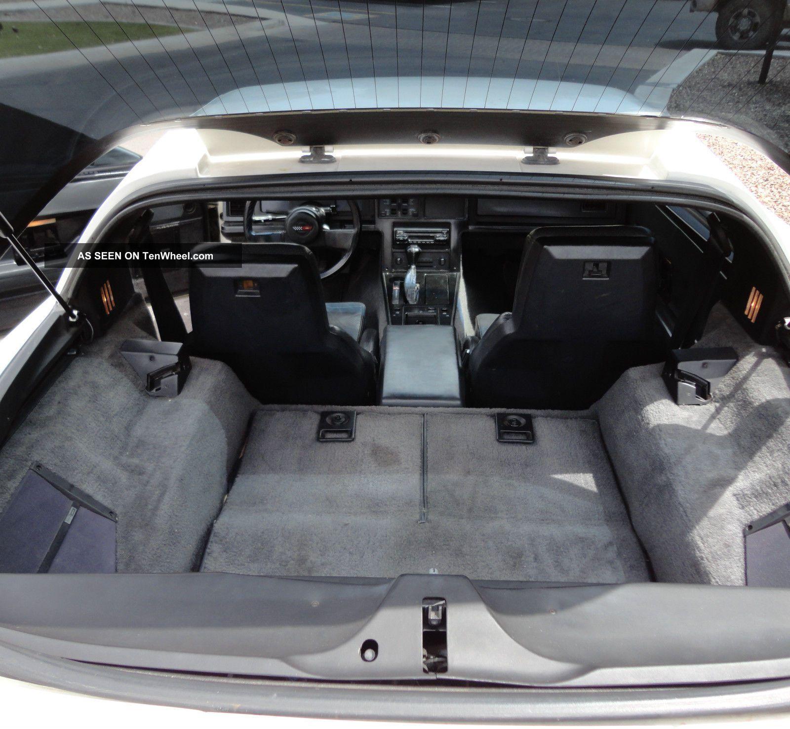 1994 Chevrolet Corvette Interior: 1984 Chevrolet Corvette Coupe White With Black Interior 84