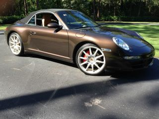 2008 Porsche 911 Carrera 4s Convertible 2 - Door 3.  8l photo