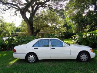 1993 Mercedes - Benz 300sd Base Sedan S350 Turbo Diesel Ice Cold Air Fl photo