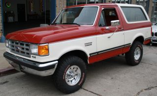 1988 Ford Bronco 4wd Ultra 351 V8 Auto Adult Driven & Owned photo