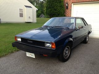 1981 Toyota Corolla Base Sedan 2 - Door 1.  8l photo
