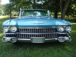 1959 Cadillac Coupe De Ville 2 Door Hardtop Continental Kit Custom photo