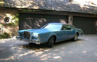1974 Lincoln Continental Mark Iv, photo