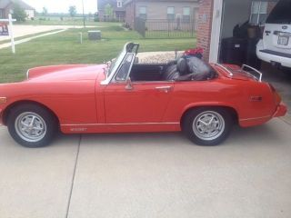 1977 Mg Midget photo
