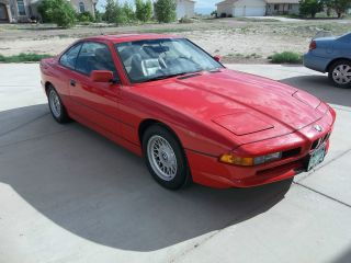 1991 Bmw 850i Manual Grand Tourer photo