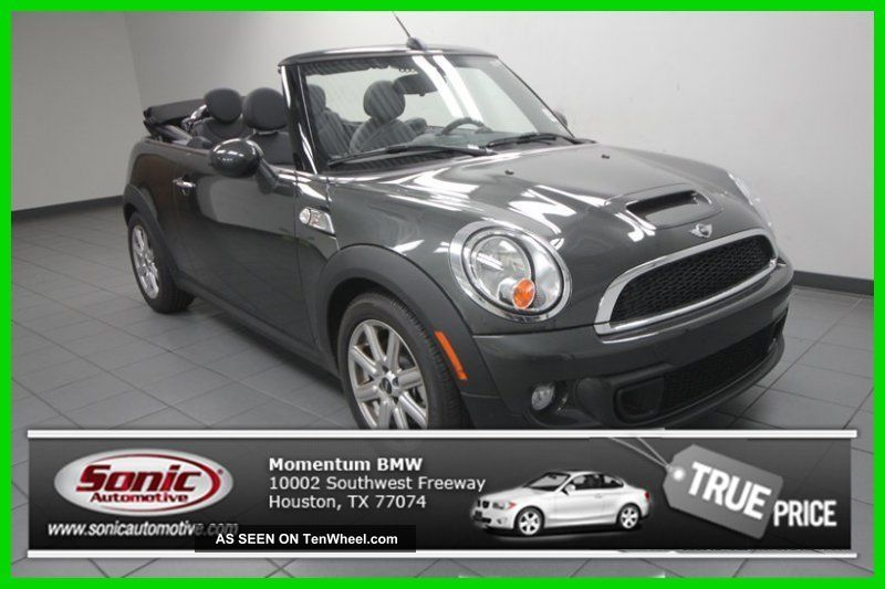 2014 Cooper S Turbo 1.  6l I4 16v Manual Front - Wheel Drive Convertible Premium Other photo