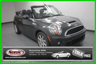 2014 Cooper S Turbo 1.  6l I4 16v Manual Front - Wheel Drive Convertible Premium photo