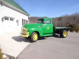 1954 Gmc 250 One Ton Flatbed Truck