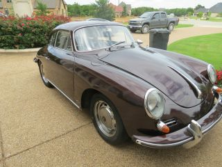 1962 Porsche 356 Karmann Notchback With 90 Engine photo