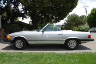 1985 Mercedes 380sl Cpe / Rdstr - - Immaculate California Car - - - Books And Records photo