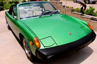 1975 Porsche 914 Targa 2.  0 Convertible Sports 5 Speed A / C Manual Matching Numbe photo
