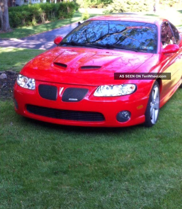 2006 Pontiac Gto Base Coupe 2 - Door 6.  0l GTO photo