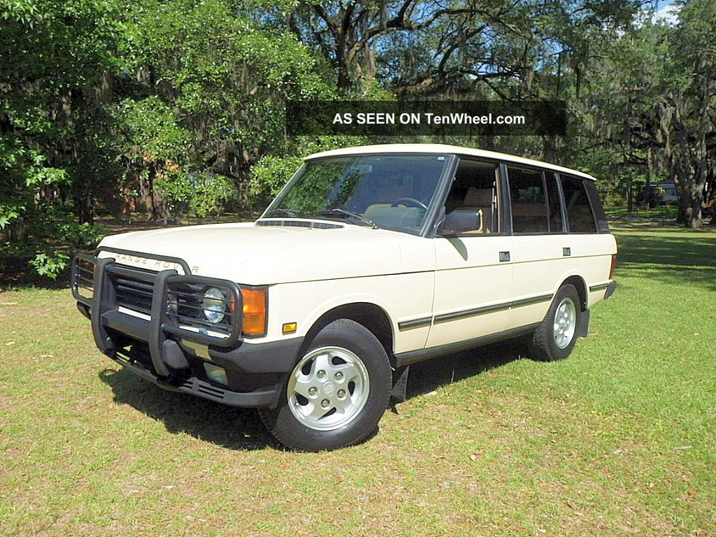 1994 Land Rover Range Rover Lwb Range Rover photo