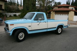 1983 Ford F - 150 Xl Standard Cab Pickup 2 - Door 5.  0l photo