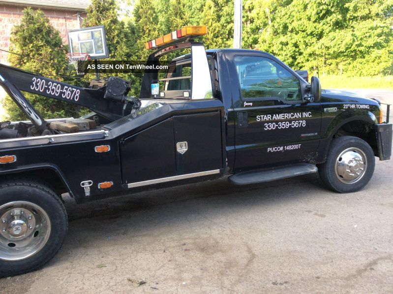 1999 Ford F - 550 Duty Tow Truck Wrecker 7.  3l Other Pickups photo
