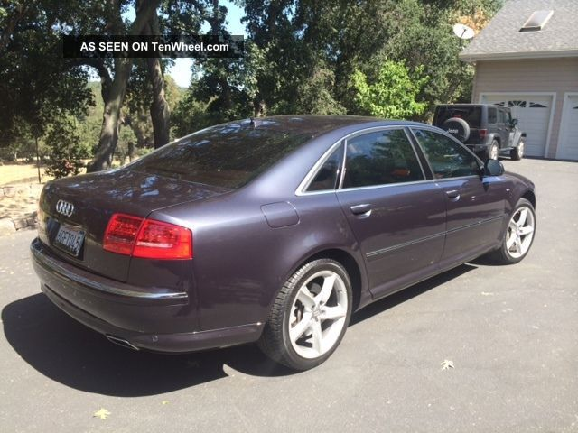 2008 Audi A - 8l W12 (oyster Gray Metallic) A8 photo