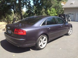 2008 Audi A - 8l W12 (oyster Gray Metallic) photo