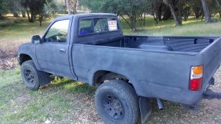 1989 Toyota Pickup Dlx Standard Cab Pickup 2 - Door 2.  4l photo
