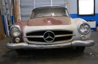 1958 Mercedes Benz 190sl Hardtop / Softtop Excellent Project photo