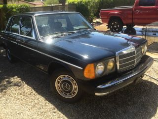 1981 Mercedes 240d Navy Blue photo