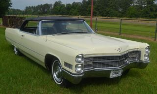 1966 Cadillac Deville Convertible Well - Preserved photo
