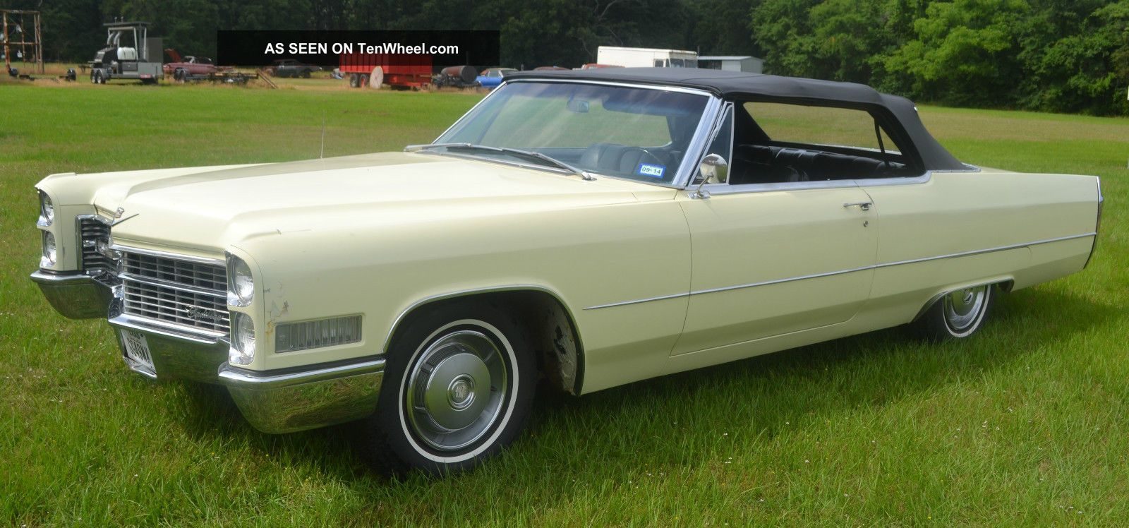 1966 Cadillac Deville Convertible Well Preserved