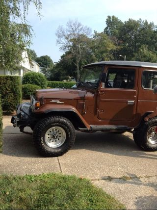 1976 Fj40 Toyota Land Cruiser photo