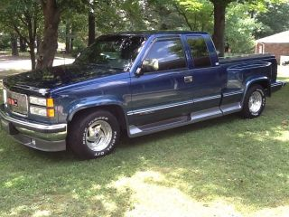 1994 Gmc C1500 Sierra Sle Extended Cab Pickup 2 - Door 5.  7l photo