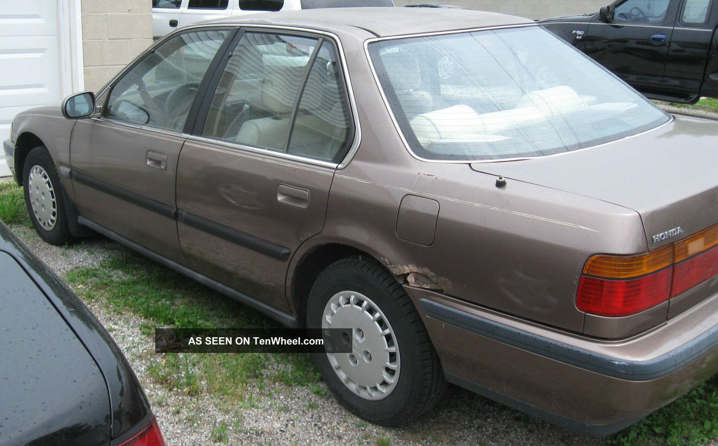 91 Honda Accord Lx 4 Door Sedan Automatic Running Needs