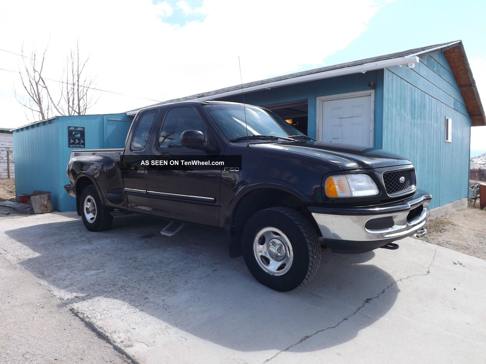 1997 ford f150 stepside extended cab 4x4 triton 4 6. Black Bedroom Furniture Sets. Home Design Ideas