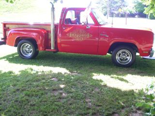 1978 Dodge Pickup Little Red Express 360 Engine.  Automatic photo