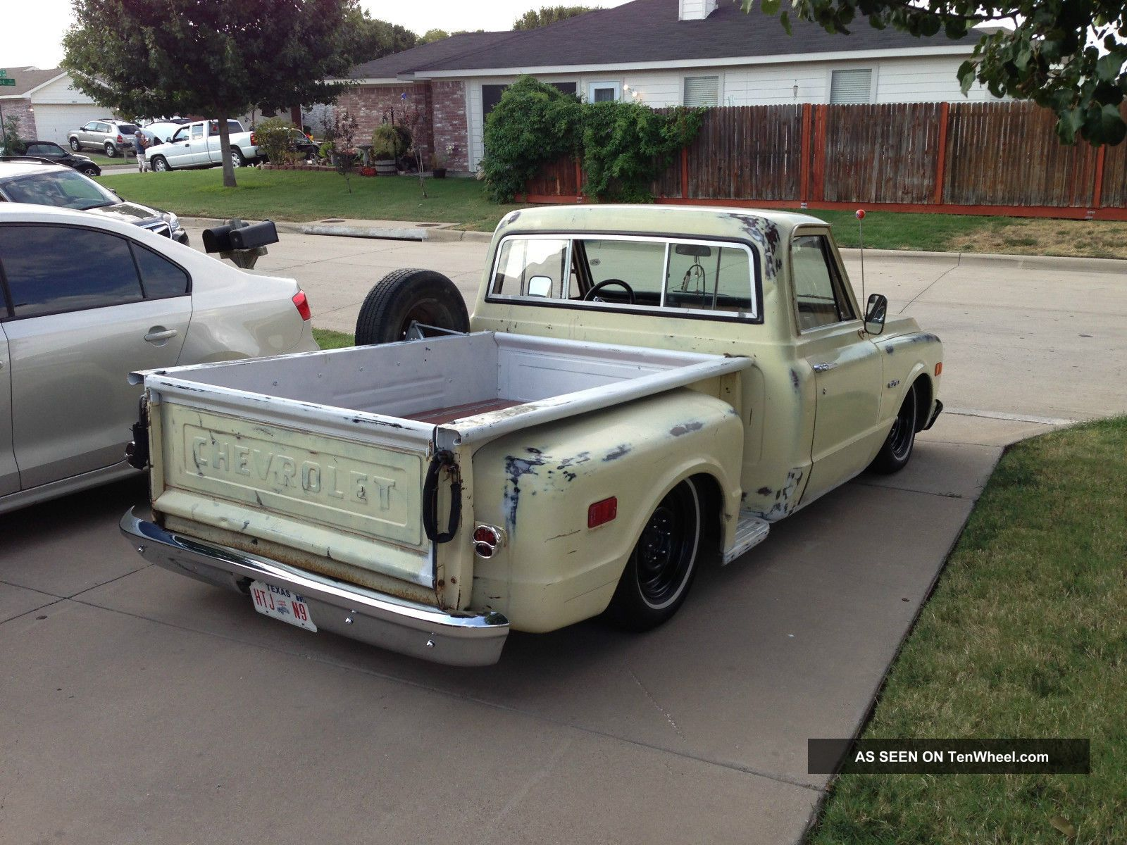 1970 Chevy C10 Chevrolet Truck Bagged Antique Classic