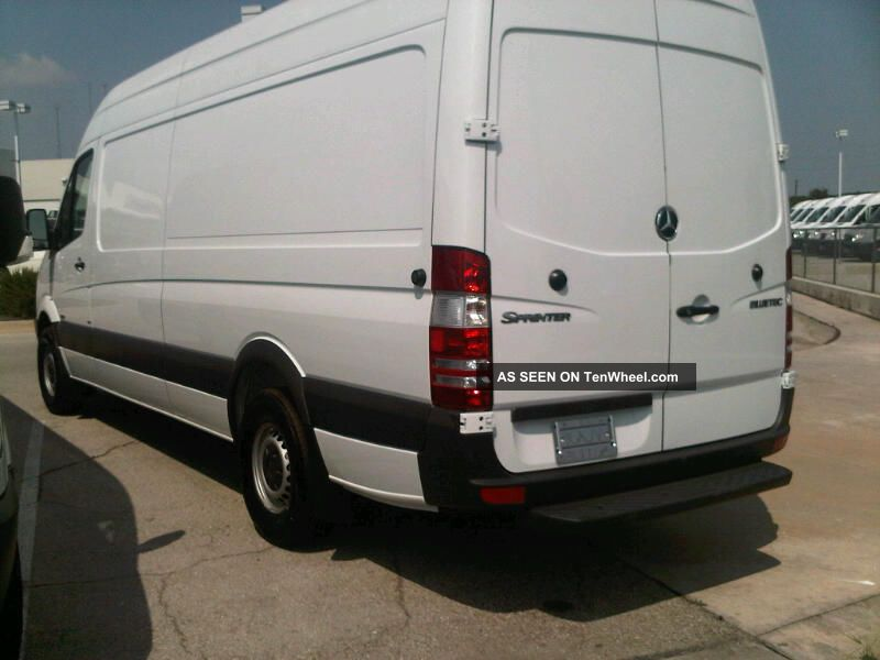2013 mercedes benz sprinter cargo van 2500 170