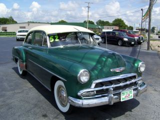 1952 Chevrolet Style Line Deluxe Base 3.  8l photo