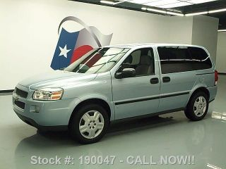 2007 Chevrolet Uplander Ls V6 7 - Pass Cruise Control 43k Texas Direct Auto photo