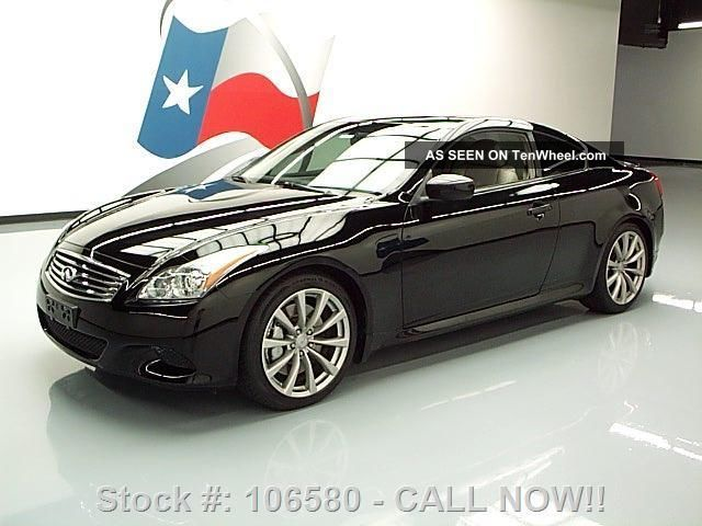 2008 Infiniti G37 Sport Coupe 42k Texas Direct Auto G photo