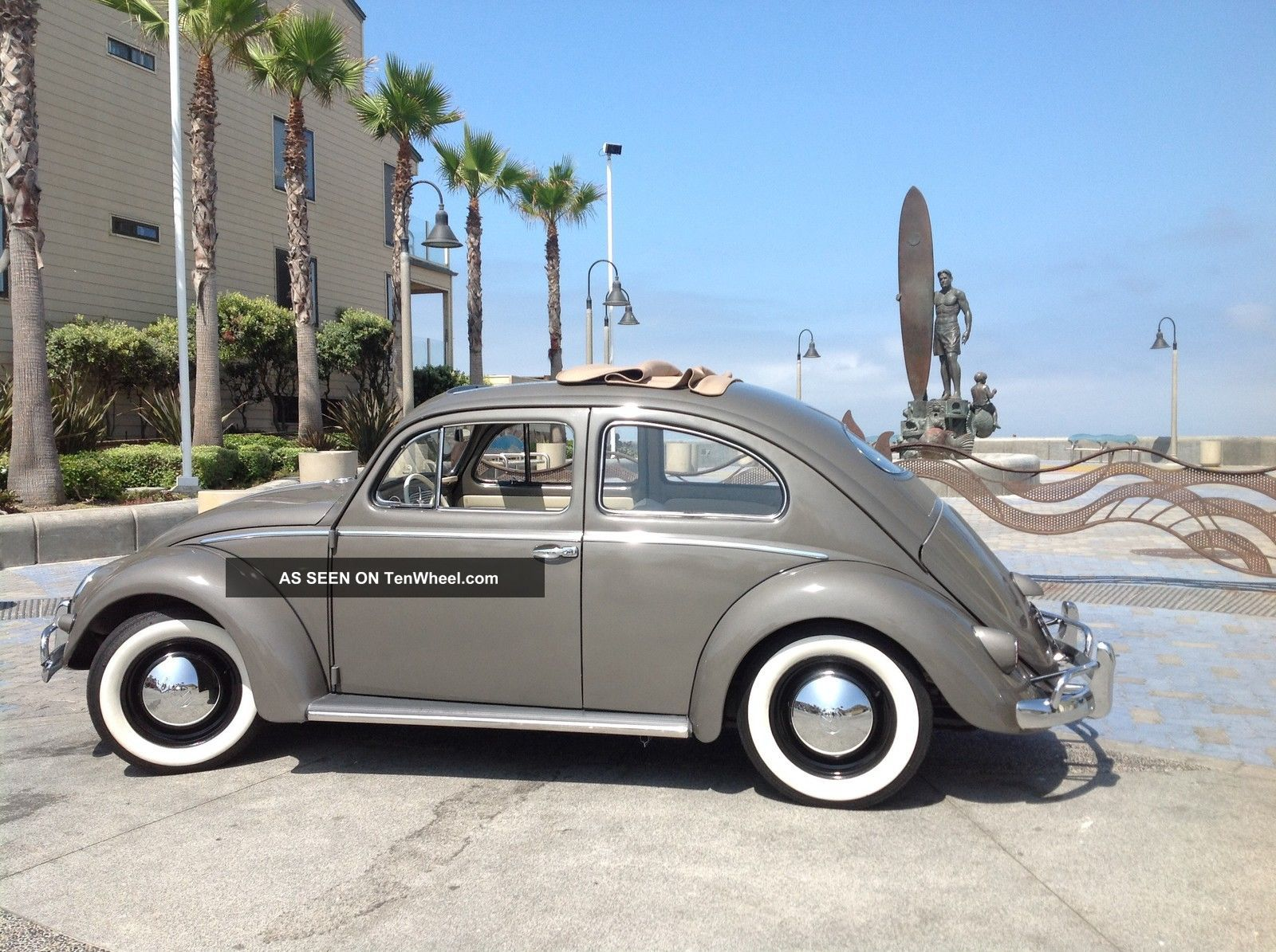 1956 Vw Oval Ragtop. . . .  Runs And Drives Awesome Beetle - Classic photo