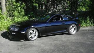 1995 Toyota Supra Black On Black photo