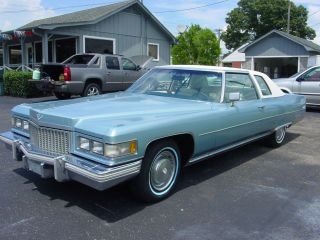 1975 Cadillac Coupe Deville Estate photo
